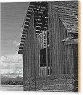Montana Weathered Barn Wood Print