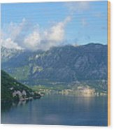 Montenegro's Bay Of Kotor Wood Print