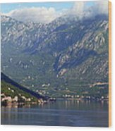 Montenegro's Black Mountains Wood Print