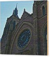 Montreal Church Wood Print