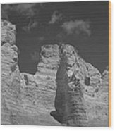 Monument Rocks 2 Wood Print