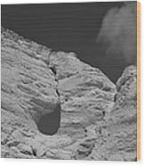 Monument Rocks 3 Wood Print