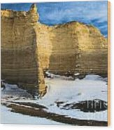 Monument Rocks Castle Wood Print