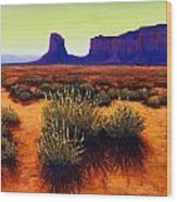Monument Valley 1 Wood Print