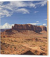 Monument Valley Arizona  Wood Print