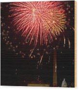Monumental Celebration Wood Print by David Hahn
