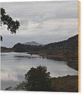 Moody Lake - Ring Of Kerry - Ireland Wood Print
