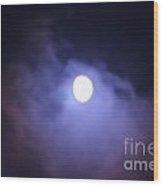 Moon 5 Wood Print
