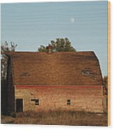 Moon Barn IIi Wood Print