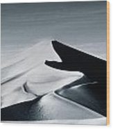 Moon Dune Wood Print by Tim Booth