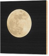 Moon Galaxy Mercury Wood Print