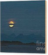 Moonlight Series - 3 Wood Print