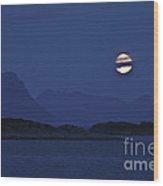 Moonlight Series - 4 Wood Print