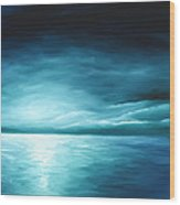Moonrise II Wood Print by James Christopher Hill