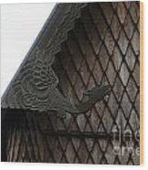 Moorhead Stave Church 12 Wood Print