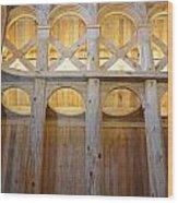 Moorhead Stave Church 14 Wood Print