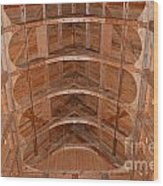 Moorhead Stave Church 20 Wood Print