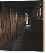 Moorhead Stave Church 24 Wood Print