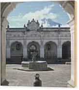 Moorish Arch Wood Print