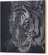 Moquito El Tigre Wood Print