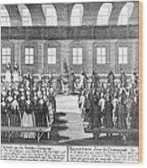 Moravians, 1757 Wood Print