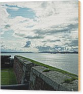 Moray Firth From Fort George Wood Print