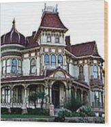 Morey Mansion Wood Print