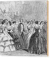 Mormon Ball, 1857 Wood Print