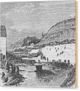 Mormon Baptismal, 1873 Wood Print