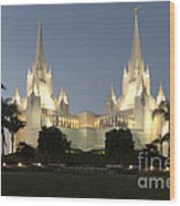 Mormon Cathederal San Diego 2 Wood Print