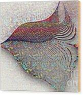 Morning Bird Wood Print by Vidka Art