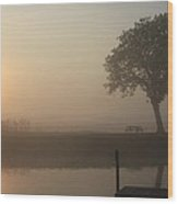 Morning Calm Wood Print