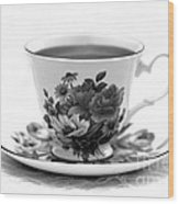 Morning Coffee Wood Print