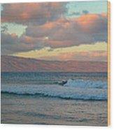 Morning In Maui Wood Print