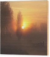 Morning Moods Wood Print