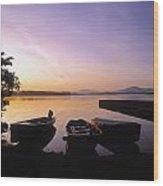 Morning Over Lough Leane, Killarney, Co Wood Print