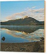 Morning Reflections Wood Print by Bob Berwyn