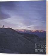 Morning Shooting Death Valley Wood Print