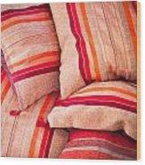 Moroccan Cushions Wood Print