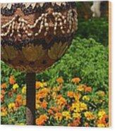 Moroccan Garden IIi Wood Print