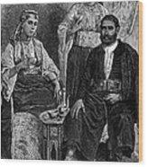 Moroccan Jews, C1892 Wood Print