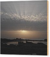 Moroccan Sunset Wood Print