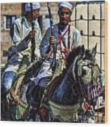 Morocco Dual Wood Print by Chuck Kuhn