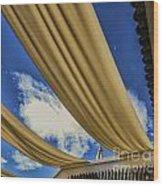 Morocco Riad I Wood Print by Chuck Kuhn