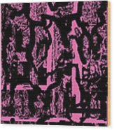 Morph Eruption 2 Wood Print