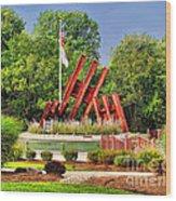 Morris Plains September 11th Memorial Wood Print