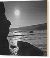 Morro Bay Shoreline Iv Wood Print