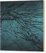 Mosaic Branch Wood Print