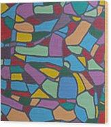 Mosaic Journey Wood Print