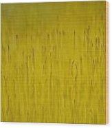 Moss In Yellow II Wood Print